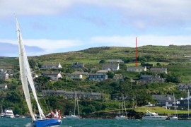 View of Shornagh from Baltimore Harbour